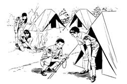Camping Program picture