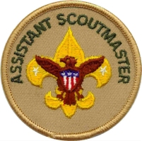 asst. scoutmaster patch